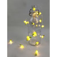 Dekorasi lampu hias LED USB tumblr string fairy 20 led kado hadiah