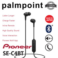 Pioneer SE-C4BT Bluetooth Earphone Wireless