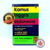 Kamus Inggris Indonesia Softcover Original - John M. Echols