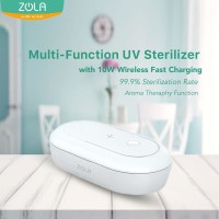 Zola UV Sterilizer Multi Function Box With 10W Wireless Fast Charging