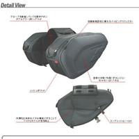 Tas Touring Samping Motor, Sidebag Side Saddle Bag Oval Waterproof