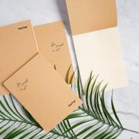 See Yourself In Art Plain Notepad B6 / Buku Catatan B6 / Notes B6