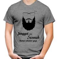 KAOS BAJU MUSLIM JENGGOT IS SUNNAH