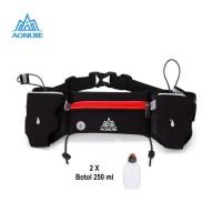 Aonijie Waist Bag E834S Tas Pinggang + tali BIB, 2 Botol - RED