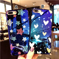 STAR AND LOVE CASE IPHONE 5 OPPO F7 F5 A71 A83 F3 F5