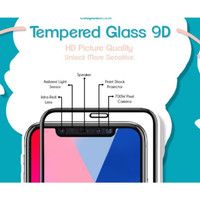 TEMPERED GLASS 9D FULL SCREEN IPHONE X XR XS Max 6 6+ 6s 6s+ 7 7+ 8 8+