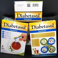 Diabetasol Gula Rendah Kalori isi 100 sachet