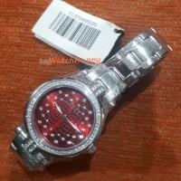 Elle EL20366B03N Ladies Stainless Steel Red Dial 100% Original