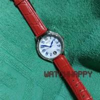 Jam Tgn Wanita ZECA ORIGINAL 100 % 143L Silver Red Croco Leather 143 L