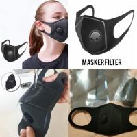 MASKER KATUP/ MASKER FILTER VALVE / MODEL N95/ KN95 mirip MAKSER BOWIN