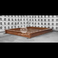 Tempat Tidur Minimalis Jati Mebel Jepara - Dipan Minimalis 160x200