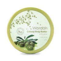 Wardah Creamy Body Butter With Olive, 150 ml