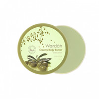 Wardah Creamy Body Butter With Olive, 50 ml