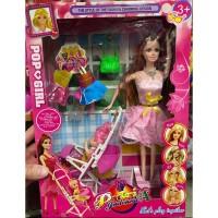Jual Mainan Barbie Boneka Stroller Anak Aksesoris Botol Susu Lengkap Jakarta Barat Eazytoys Tokopedia