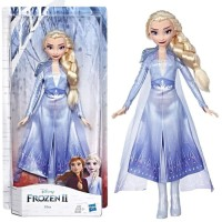 HASBRO DISNEY FROZEN 2 - Elsa Fashion Doll with long blonde hair
