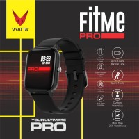 VYATTA Fitme Pro Smartwatch - Custom Watch Face, Full Touch, Metal
