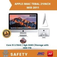 All in one Apple iMac Tebal 21-Inch Core Intel I5 2011 - 8gb - 1TB