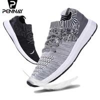 Pennay Sport Shoes - Sepatu Sneakers Pria Kasual Import Markemit V380