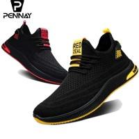 Pennay Sepatu Sneakers Kasual Pria Serpent Jump6 - Sepatu Olahraga