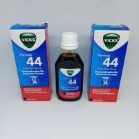 Vicks Formula 44 Syrup 100ml / sirup obat batuk tidak berdahak,alergi
