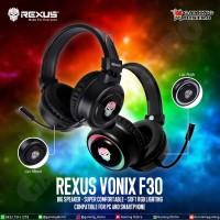 Headset Gaming Rexus Vonix F30 RGB - Rexus Vonix F30 Gaming Headset