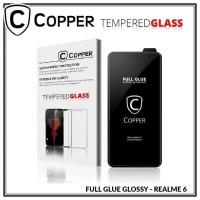 Realme 6 - COPPER Tempered Glass FULL GLUE PREMIUM GLOSSY