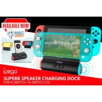 iPega Superb Speaker Charging Dock Nintendo Switch - Switch Lite