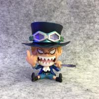RARE Action figure One Piece mini GK strawhat pirates crew cute Luffy