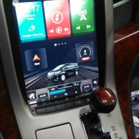 head unit tesla alphard