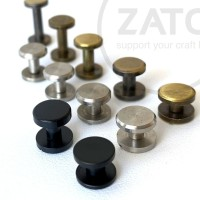 PLAIN Brass Screw Belt new colour - Solid Brass - Leather tools