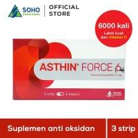 Asthin Force 6 Daya Tahan Tubuh - 3 Strip @6 Kapsul