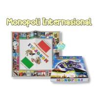 Mainan Jadul Mainan Keluarga Monopoli Mancanegara Board Game