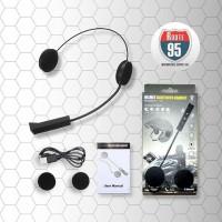 Headset Bluetooth Helm Motor BT8 - Wireless Bluetooth Earphone Music