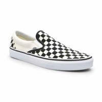 Vans U Classic Checker Board Sepatu Slip-On Pria