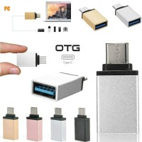 OTG Type C to USB OTG Tipe C Besi