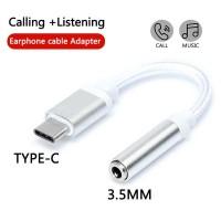 USB Type C to 3.5mm AUX Audio Jack Adapter Converter Konektor Tipe C