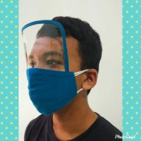 Masker Face Shield Kain