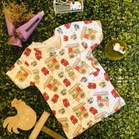 Kaos Printing Anak Unisex Gerobak Bakso