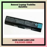 Baterai Laptop Toshiba Satellite A200 A300 L200 L550 PA3534U-1BRS