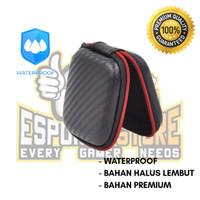 Case Earphone Motif Karbon Premium