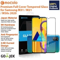 Original Mocolo Full Cover Tempered Glass Samsung Galaxy M31 M21 M30s