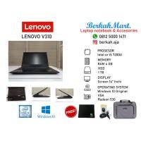 LAPTOP GAMING SECOND LENOVO V310 CORE I5-7200 4GB 1TB WIN 10 ORI RESMI