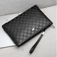 Clutch Handbag Tas Pria KULIT Black Hitam HTI1114