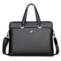 Messenger Bag / Tas Selempang pria / Tas kantor kulit Hitam HTI1116