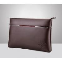 Clutch Kulit Import Pria / Tas Tangan / Dompet Pria Wanita HTI1118