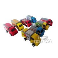 Mobilan Pullback Isi 8 Set Super Fast Truck