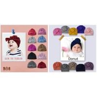 Bow Tie Petite Mimi Turban 0-3 Tahun anak bayi