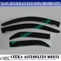 Ok Talang Air Side Door Visor Slim Honda Brio Black Solid