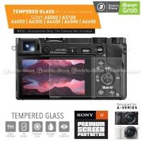 Sony Alpha A5000 A5100 A6000 A6300 A6400 A6500 A6600 LCD Tempered