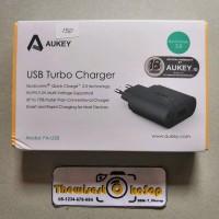 Adapter Adaptor Batok Charger Aukey PA U28 Turbo Charger QC2.0 Qu